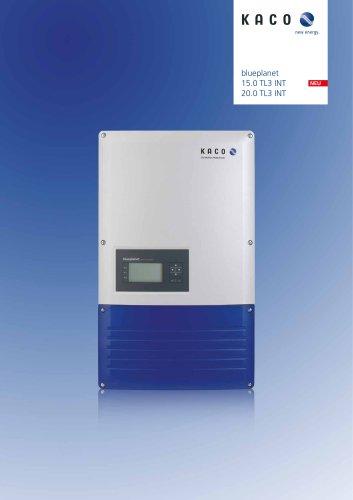 blueplanet 15.0 TL3 INT 20.0 TL3 INT