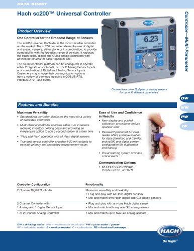 sc200™ Universal Controller