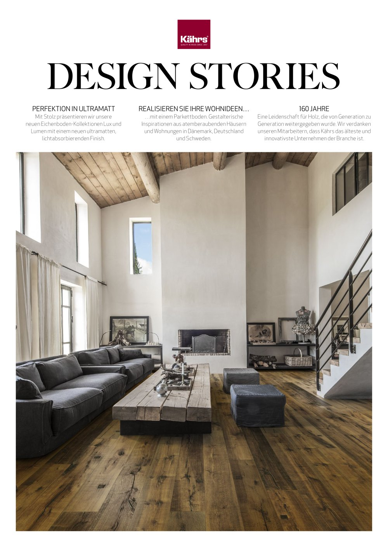 Kährs Magazin - Design Stories 2017 - Kahrs - PDF Katalog ...