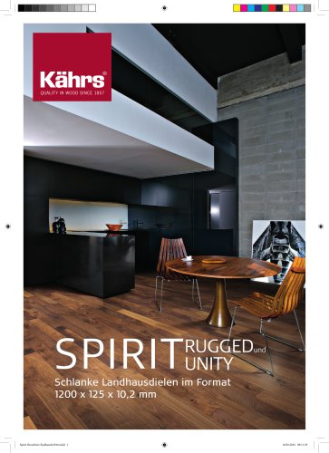 Spirit Broschüre
