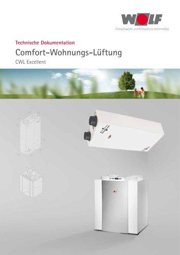 Comfort-Wohnungs-Lüftung CWL Excellent