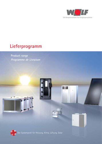 Lieferprogramm 2009