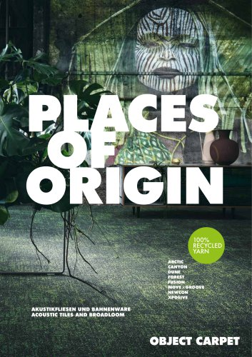 PLACES OF ORIGIN