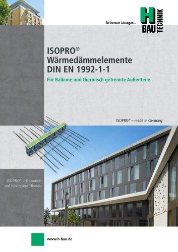 ISOPRO® BETON-BETON WÄRMEDÄMMELEMENTE
