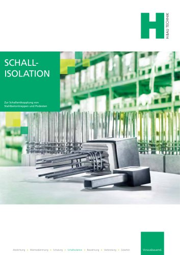 SCHALLISOLATION
