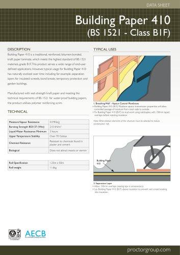 Building Paper 410