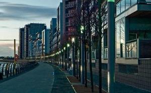 städtische Beleuchtung