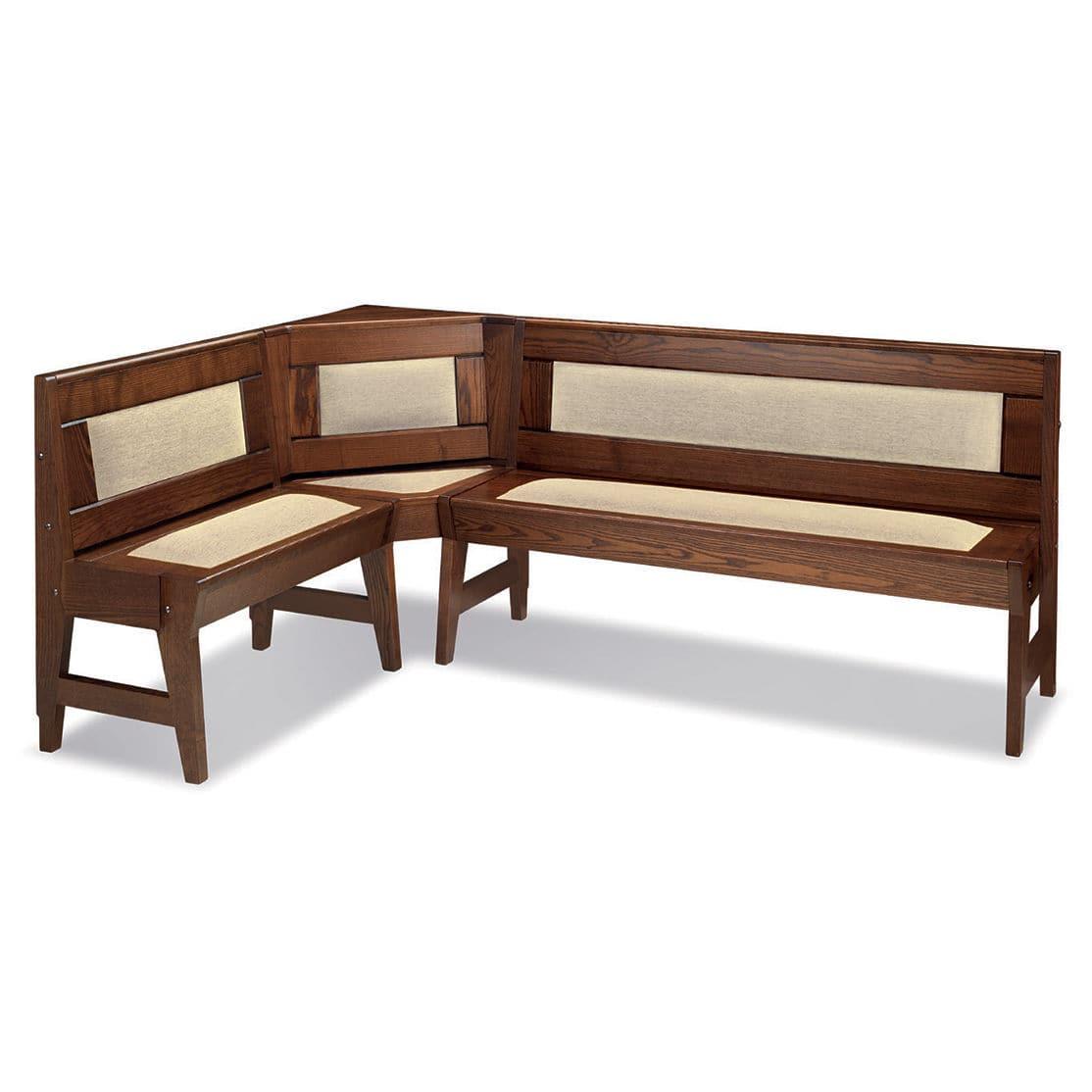 Moderne Bank / Holz / mit Rückenlehne - CAMBRIA - CUCINE LUBE