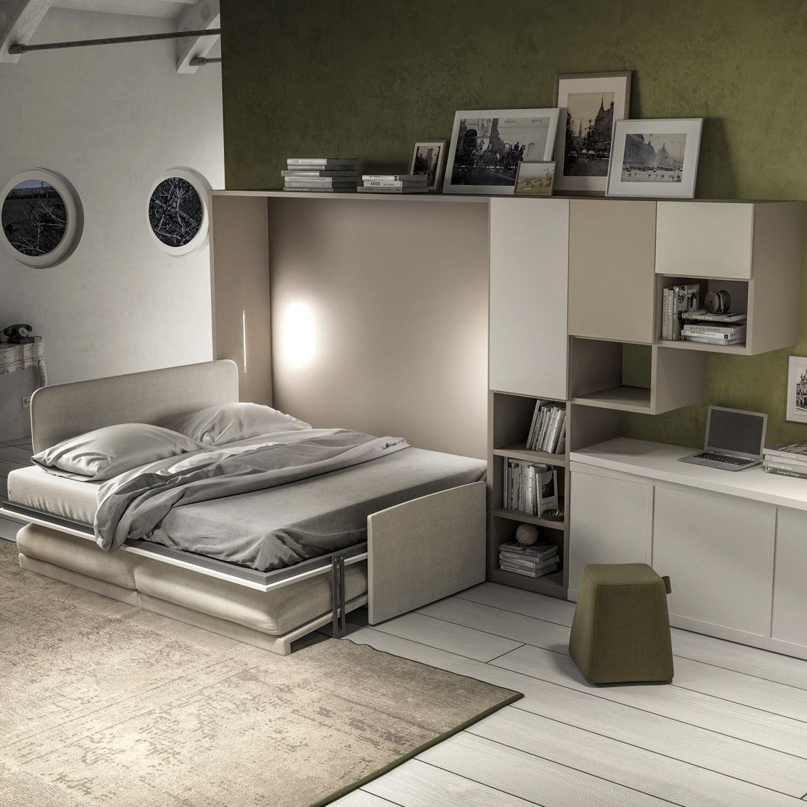 Schrankbett 363 Tumidei Doppelbett Modern Fur Kinder