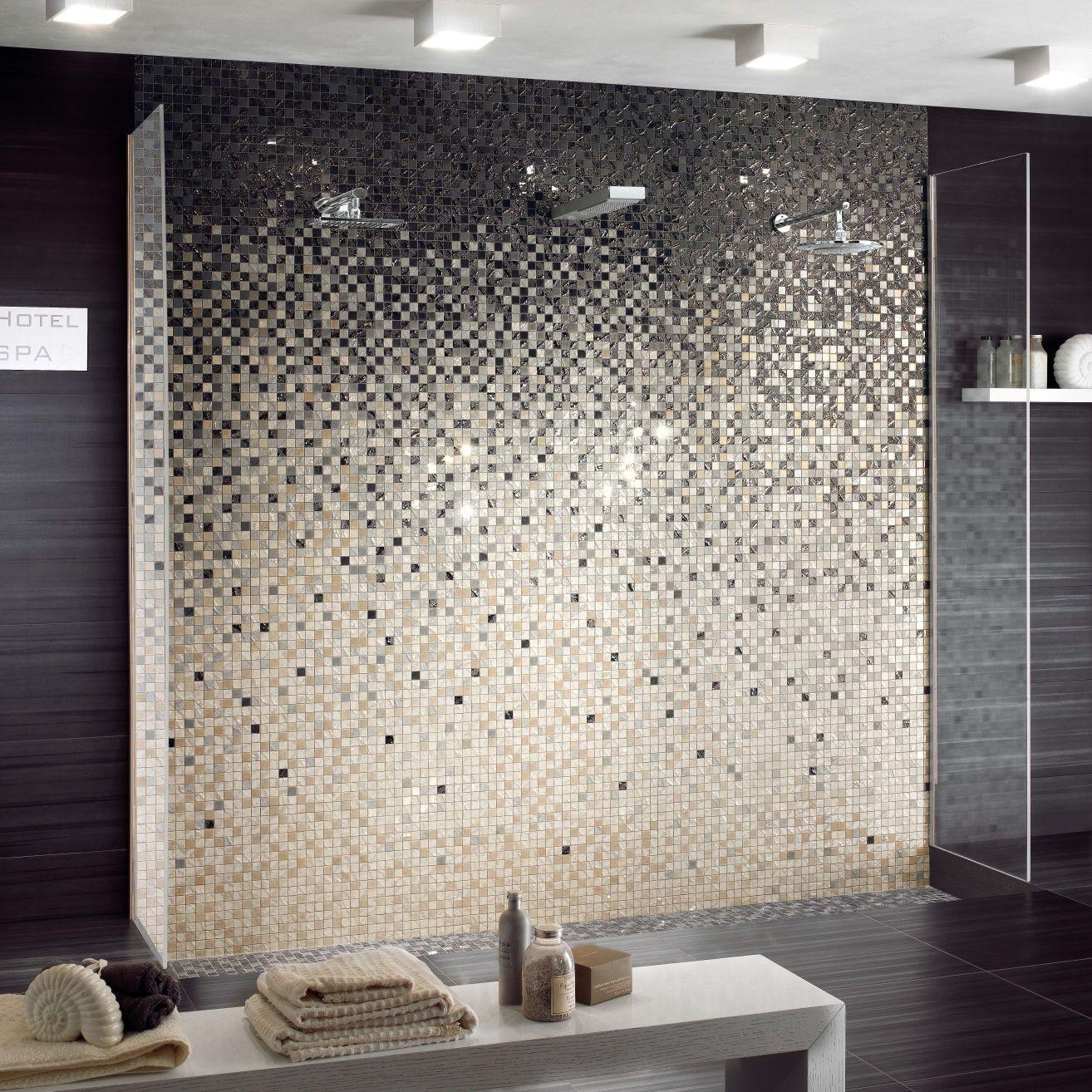 Innenraum-Mosaikfliese / für Badezimmer / Wand / Feinsteinzeug FOUR SEASONS  : OASI ONE CERAMICHE SUPERGRES