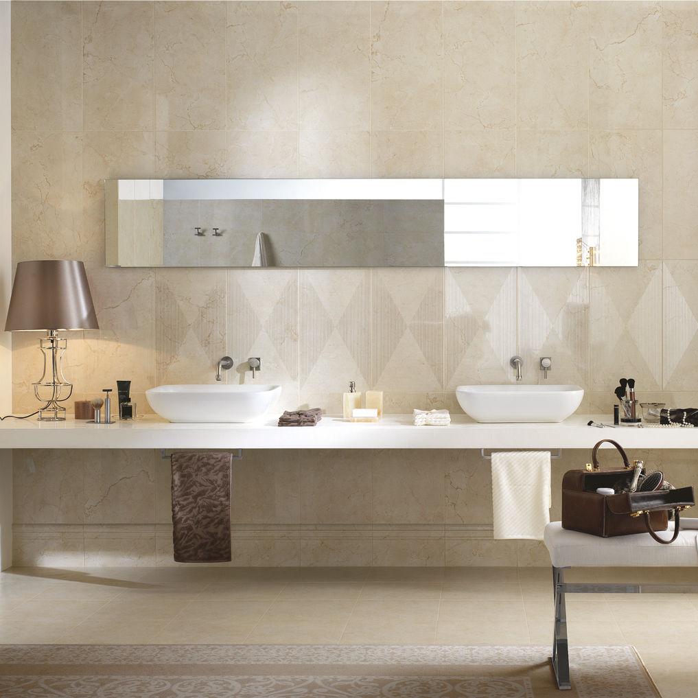 Badezimmer-Fliesen / Wand / Keramik / glatt - RIALTO - Ragno