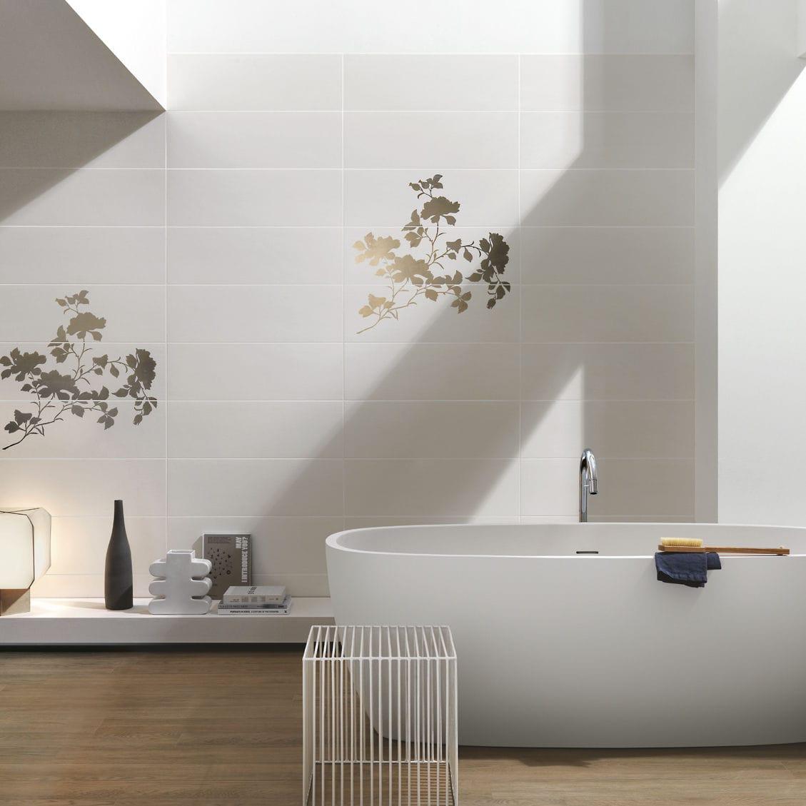 Fliesen für Badezimmer / Wand / Keramik / Samtaspekt TREND Ragno