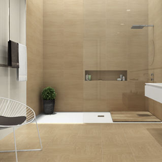 Badezimmer-Fliesen / Wand / für Fußböden / Keramik - ALBA - atenea