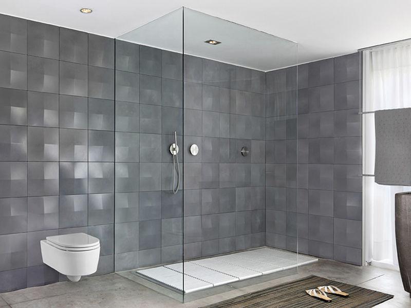 Innenraum-Fliesen / Badezimmer / Wand / Beton - 002 - itaibaron