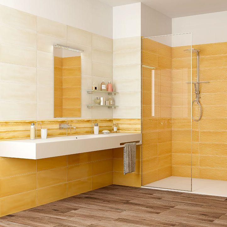 Fliesen für Badezimmer / Wand / Keramik / rechteckig ...