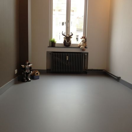 Sehr Polyurethan-Bodenbelag / Privathäuser / poliert / Betonoptik FI08