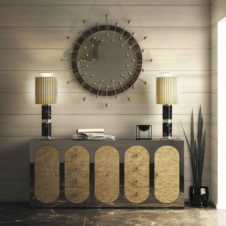 Wandmontierter Spiegel für Badezimmer / Schlafzimmer ...