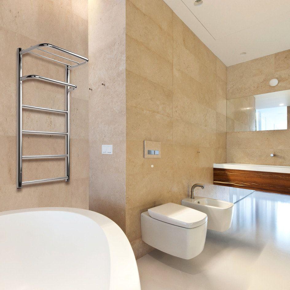 Heißwasser-Badheizkörper / Edelstahl / modern / Badezimmer ...