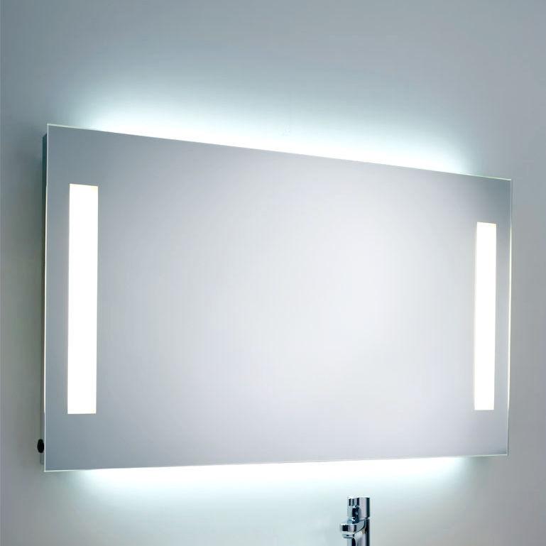Wandmontierter Spiegel für Badezimmer / beleuchtet ...