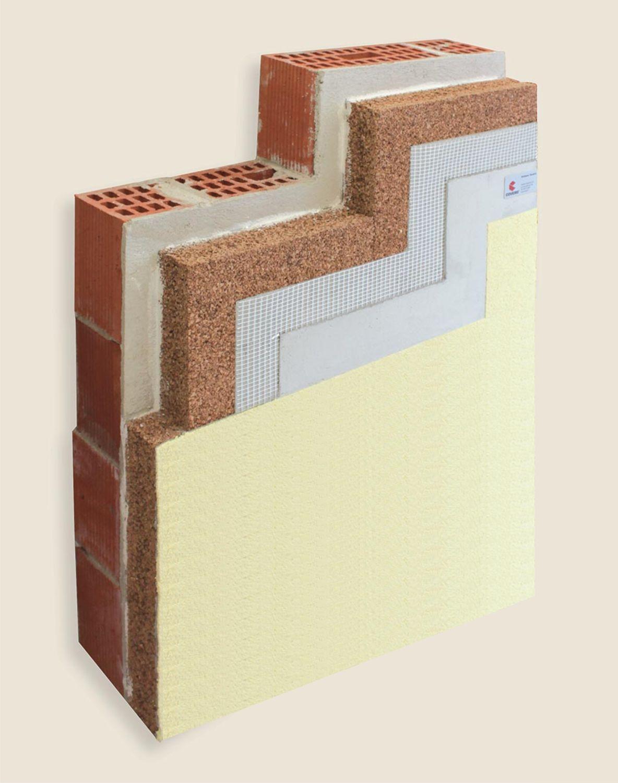 Platten Fassadenverkleidung Bioverd Cappotto Termico In Sughero