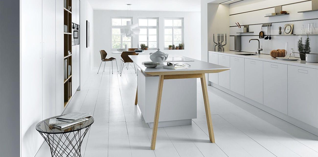 Moderne Küche / Laminat / Kochinsel / ohne Griff - NX 800 ...