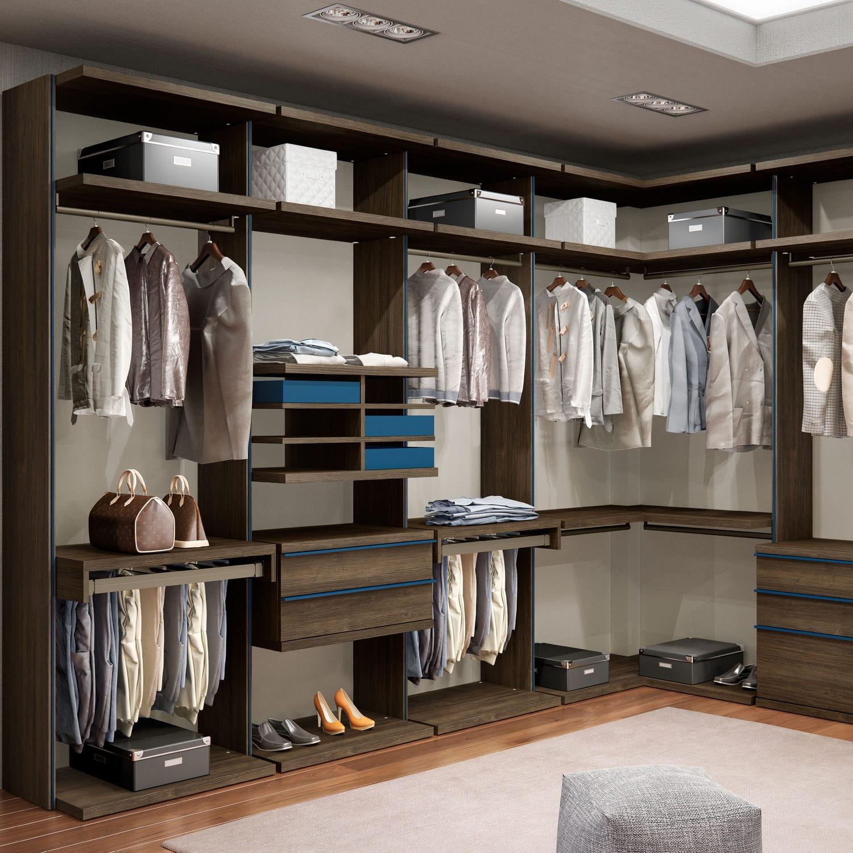 Begehbarer Kleiderschrank Eck New Open Emede Modern