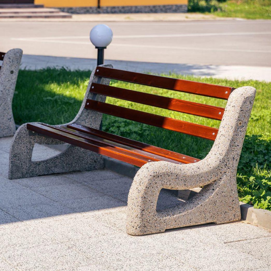 Parkbank - 2 - Encho Enchev - ETE - modern / Holz ...