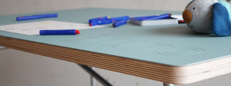 Stahlschreibtisch E2 Faust Linoleum Linoleum modern