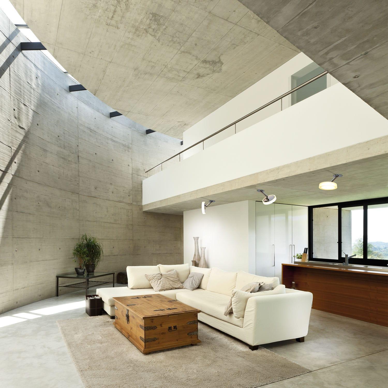 moderne Wandleuchte / Wohnzimmer / Terrassen / Metall