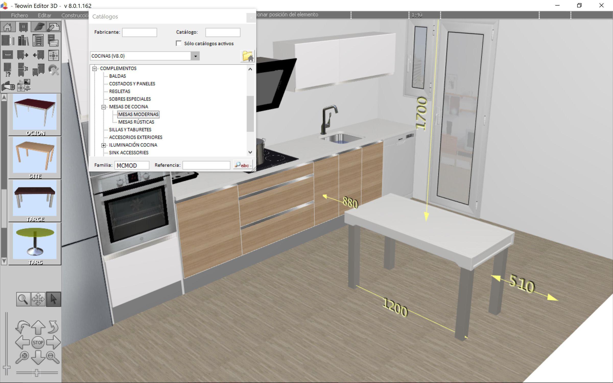 Innenarchitektur Software   Teowin   für Möbeldesign / Management ...