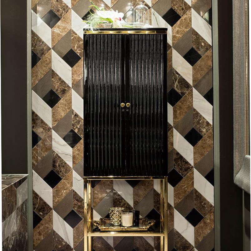 Säulenschrank für Badezimmer / Art Deco ACADEMY Oasis Group srl