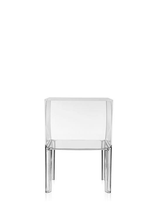 Moderner Nachttisch Small Ghost Buster Kartell Pmma Rechteckig Von Philippe Starck