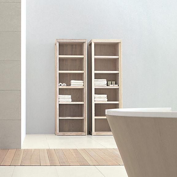 Modernes Regal / aus Esche / für Badezimmer - DOGI NORWAY by ...