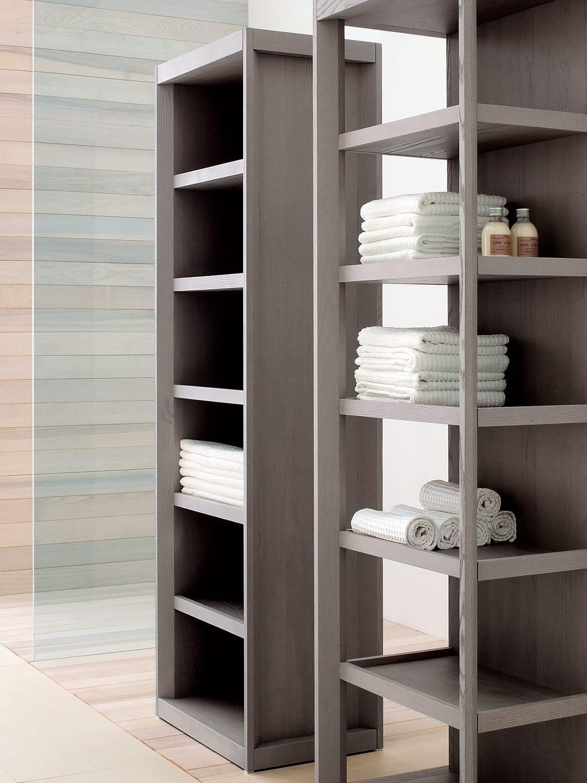 Modernes Regal / Holz / für Badezimmer - DOGI MINK by Enzo ...
