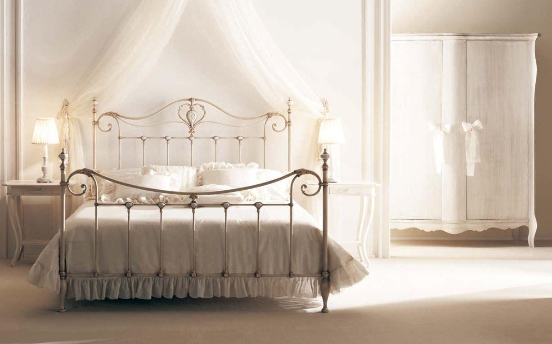 Doppelbett / Stil / Schmiedeeisen
