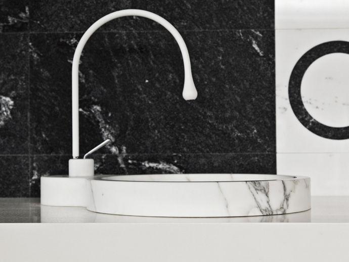 Aufsatzwaschbecken / Stein / modern - OTTO - I CONCI