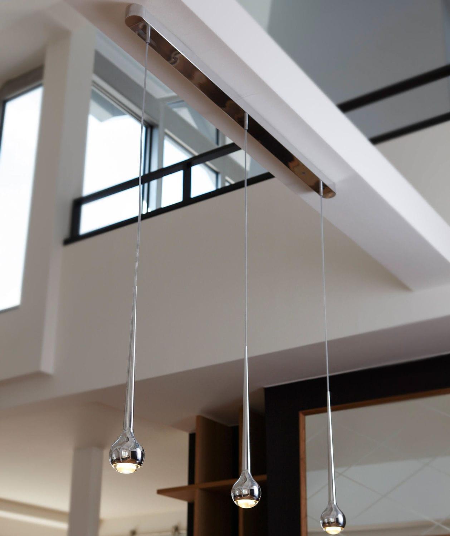 Hängelampe / modern / Aluminium / dimmbar - FALLING : TRACE ...
