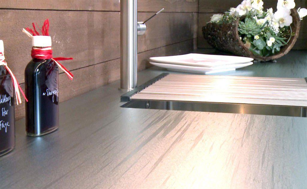 Edelstahl-Arbeitsplatte / Küchen - ICEDESIGN - Suter Inox AG - Videos