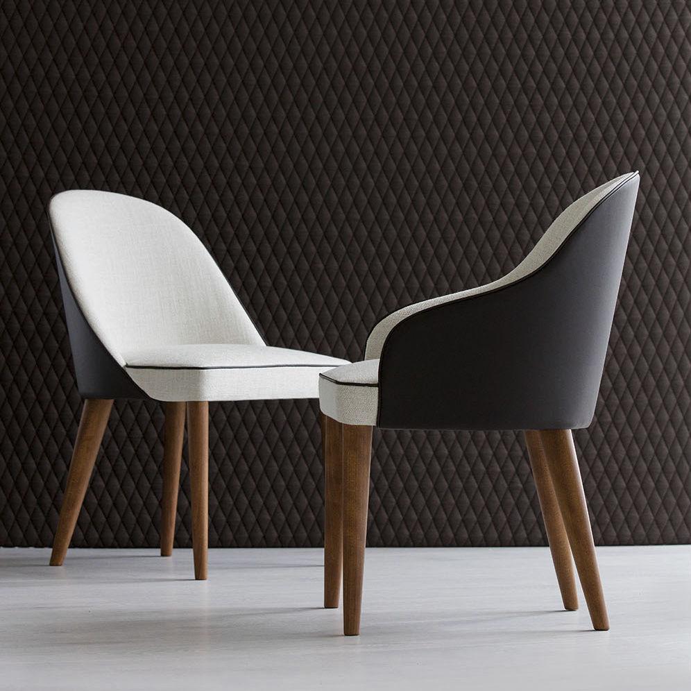 Moderne Tisch- und Stuhlkombination / Holz / Innenraum / für Privatgebrauch  JUDY BERTO SALOTTI