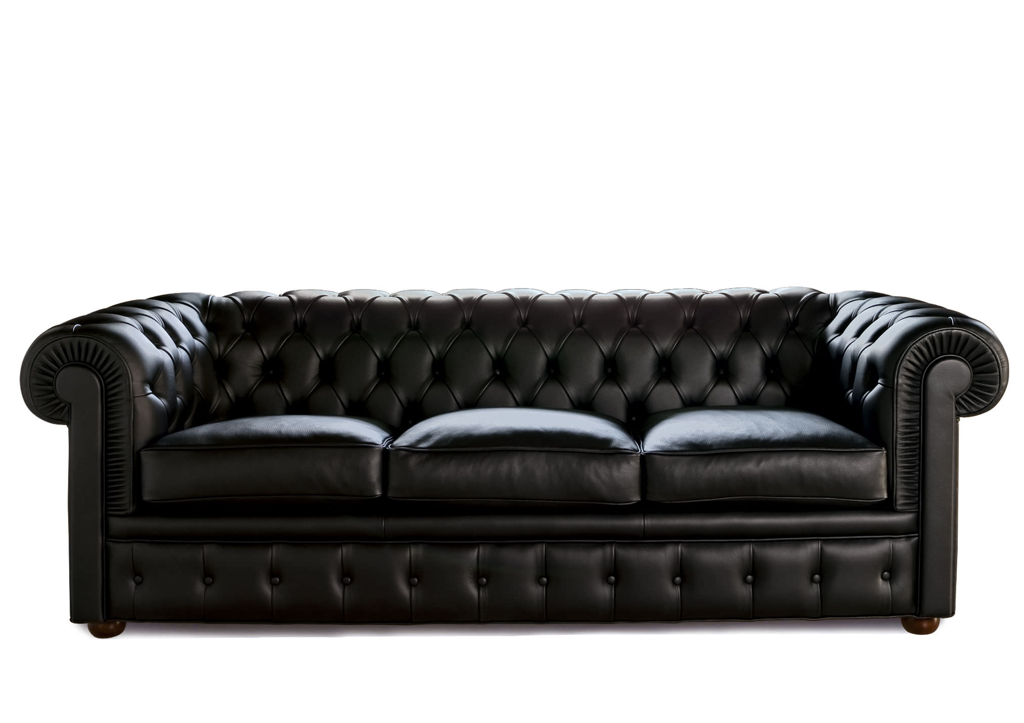 Bettsofa Chester Berto Salotti Chesterfield Stoff Leder