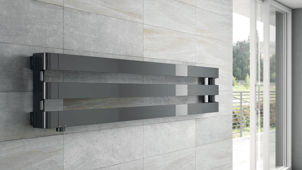 Heißwasser-Badheizkörper / Aluminium / modern / für ...