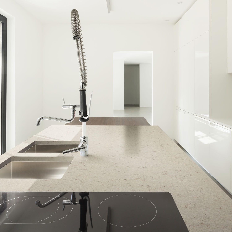 Silestone Arbeitsplatte Küchen Weiß Grau Phoenix