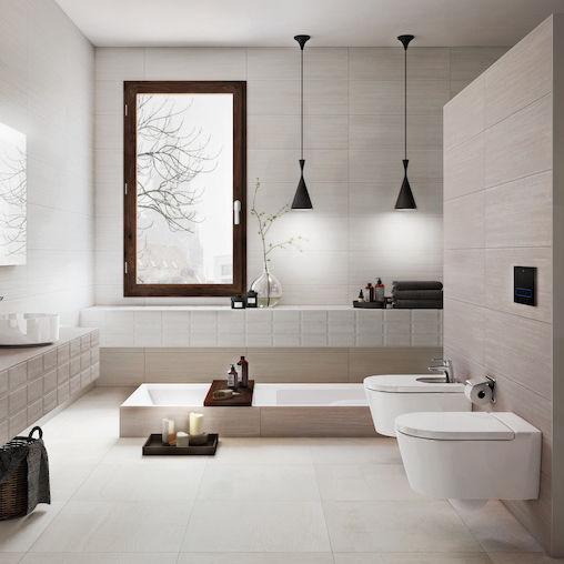 Fabulous Badezimmer-Fliesen / Wand / Feinsteinzeug / 30x90 cm - HOTEL AX56