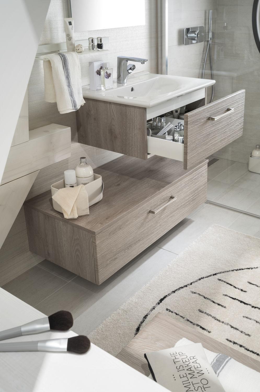 Modernes Badezimmer / Keramik / aus Fichte ...
