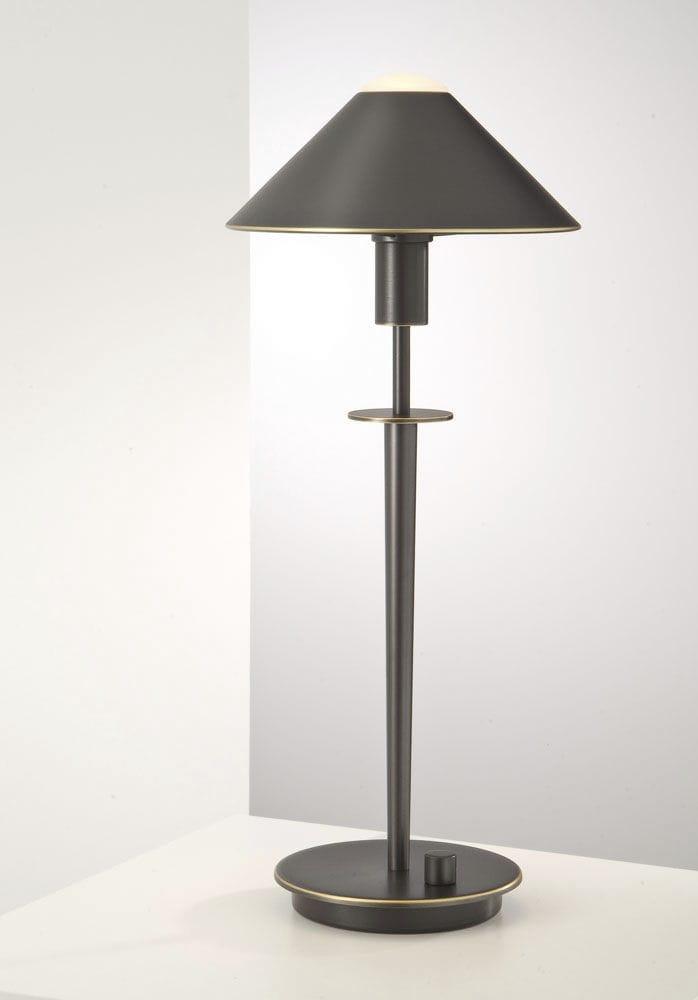 Tischlampe   6504   Holtkötter Leuchten   Messing / modern / Halogen