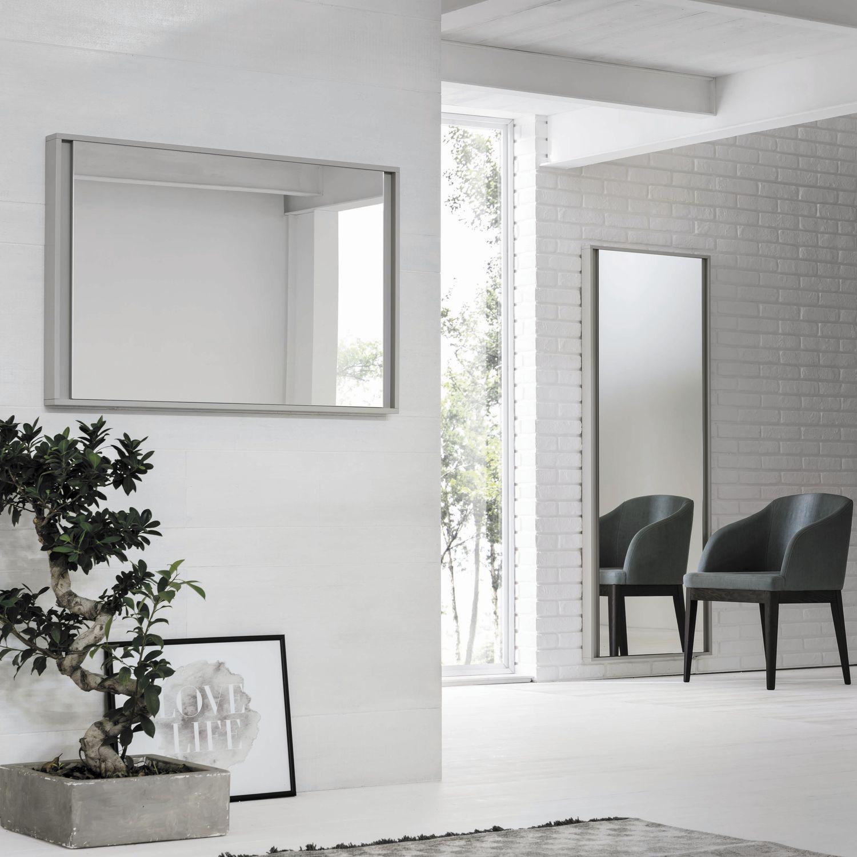 Wandmontierter Spiegel / Schlafzimmer / modern / rechteckig ...