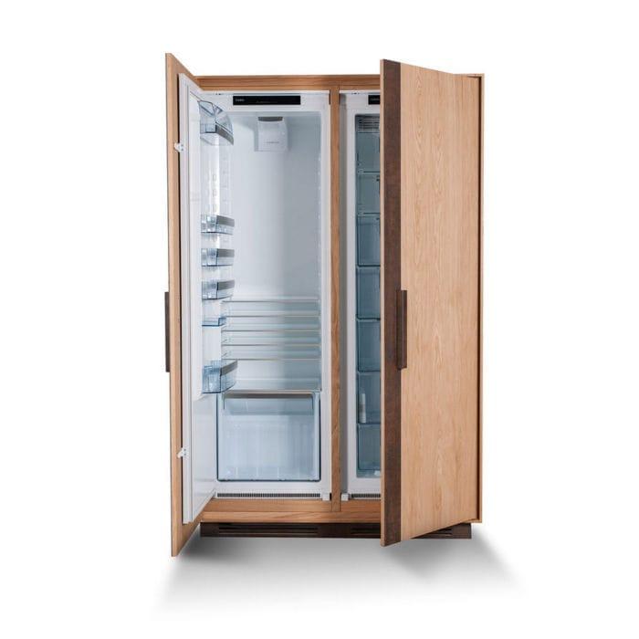Gut bekannt Schrank-Kühlschrank / Holz - CAMBUSA by Giuliano Cappelletti RZ11