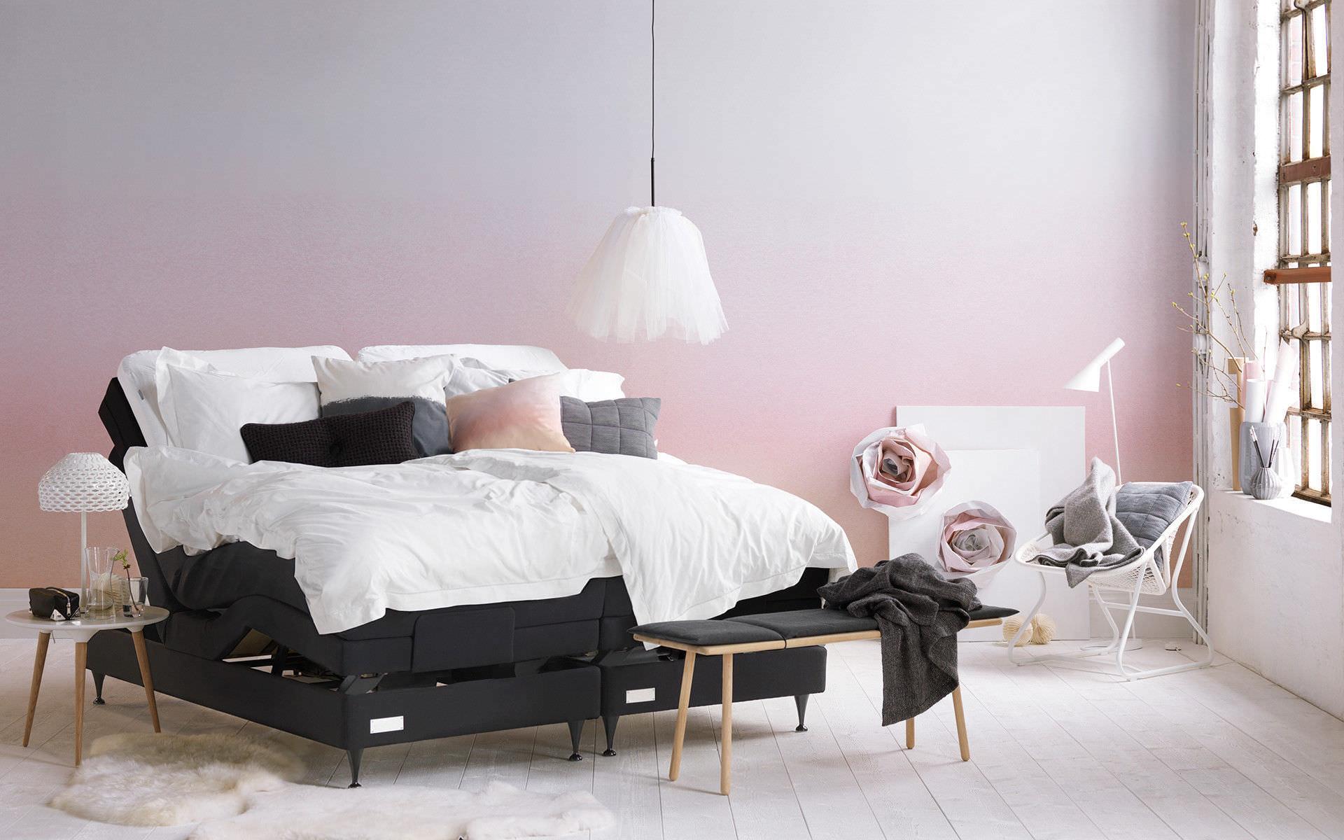 Doppelbett Modern Polster Verstellbares Kopfteil Salto