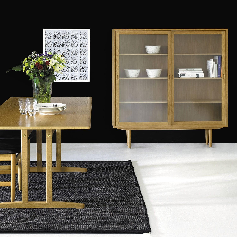Moderner Geschirrschrank Oresund Karl Andersson Glas Aus Eiche