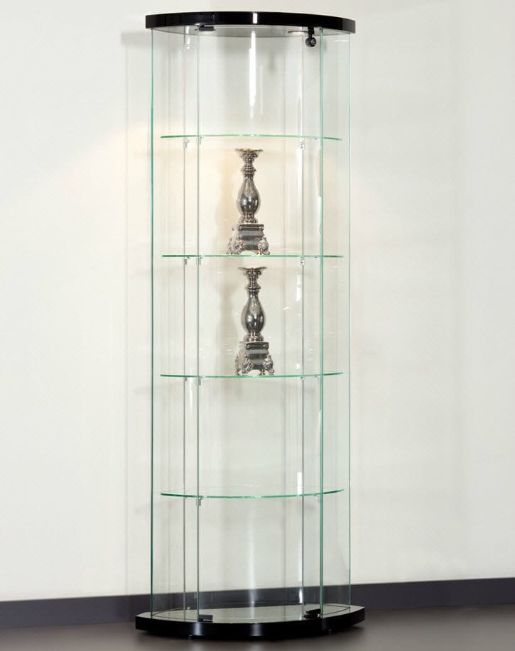 Moderne Vitrine / Glas / Aluminium / Objektmöbel - TRUMAN ...